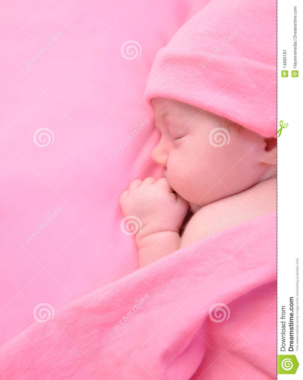 newborn baby girl sleeping with blanket stock image Baby Bottle Clip Art baby wrapped in blanket clipart