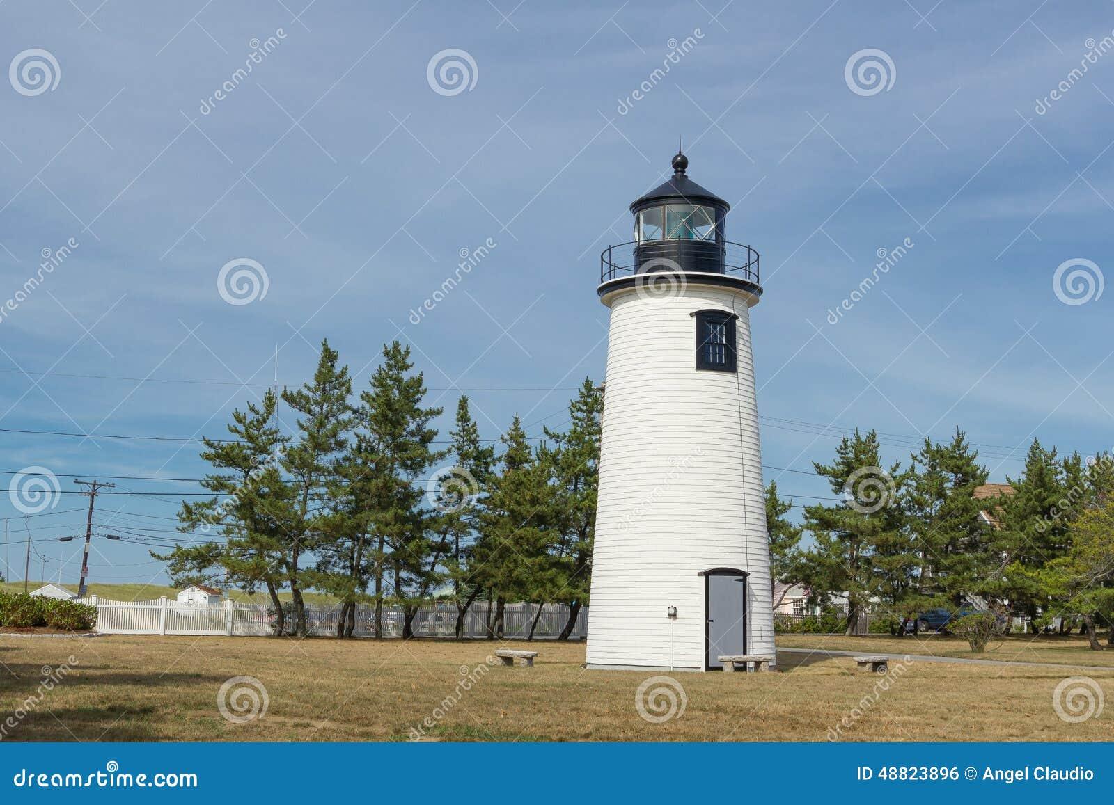Newburyport latarnia morska w Massachusetts