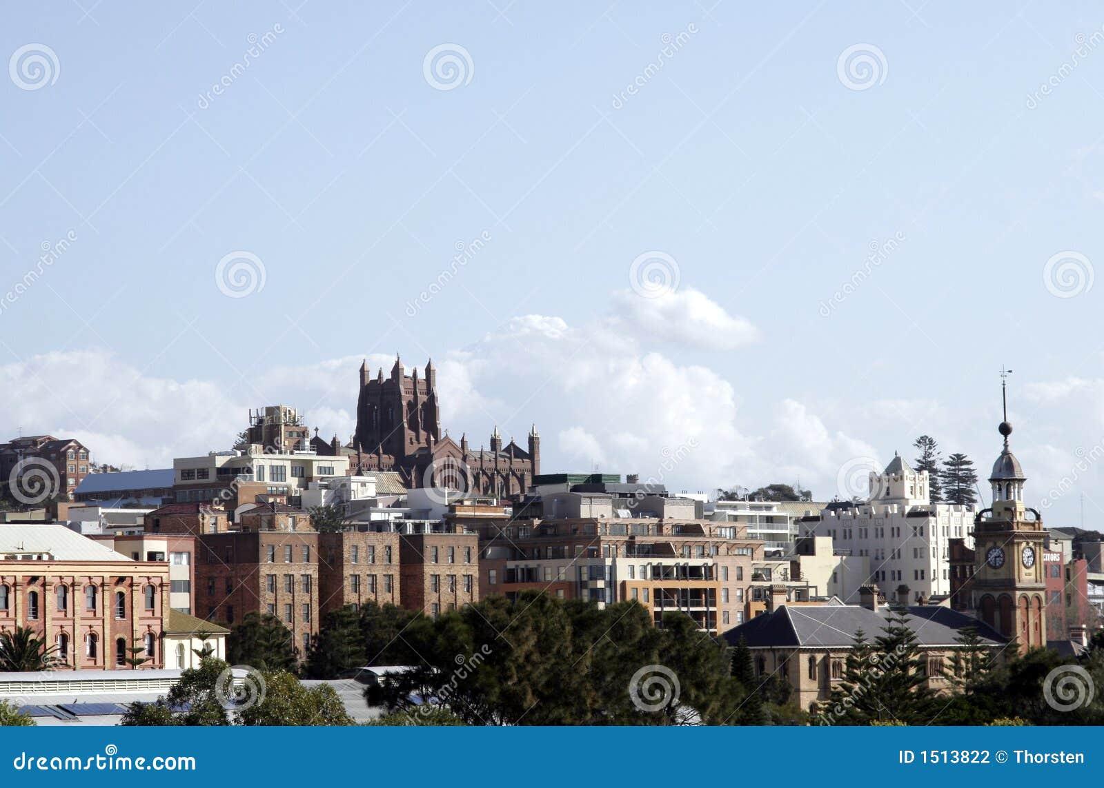 Newcaslte Stadt