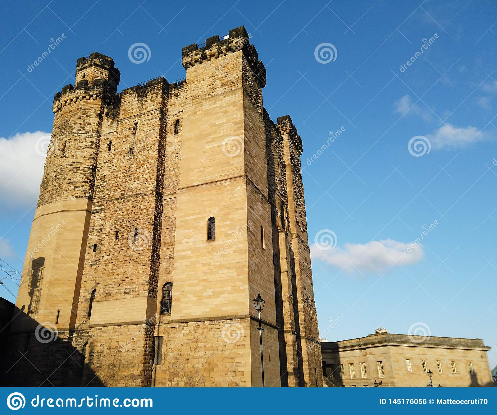 Newcastle Upon Tyne, England, United Kingdom. The Exterior ...