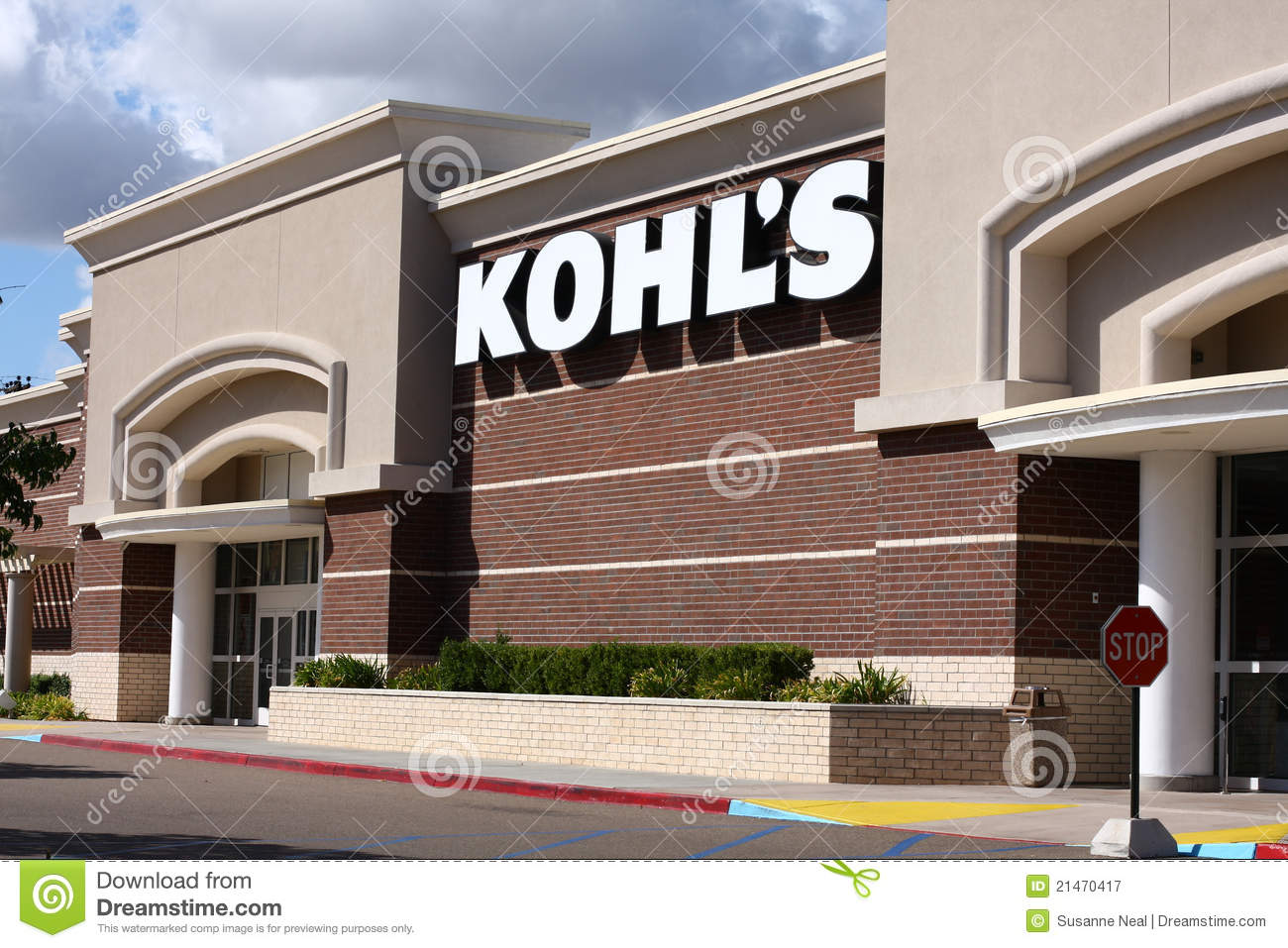 Newer Kohl s department store
