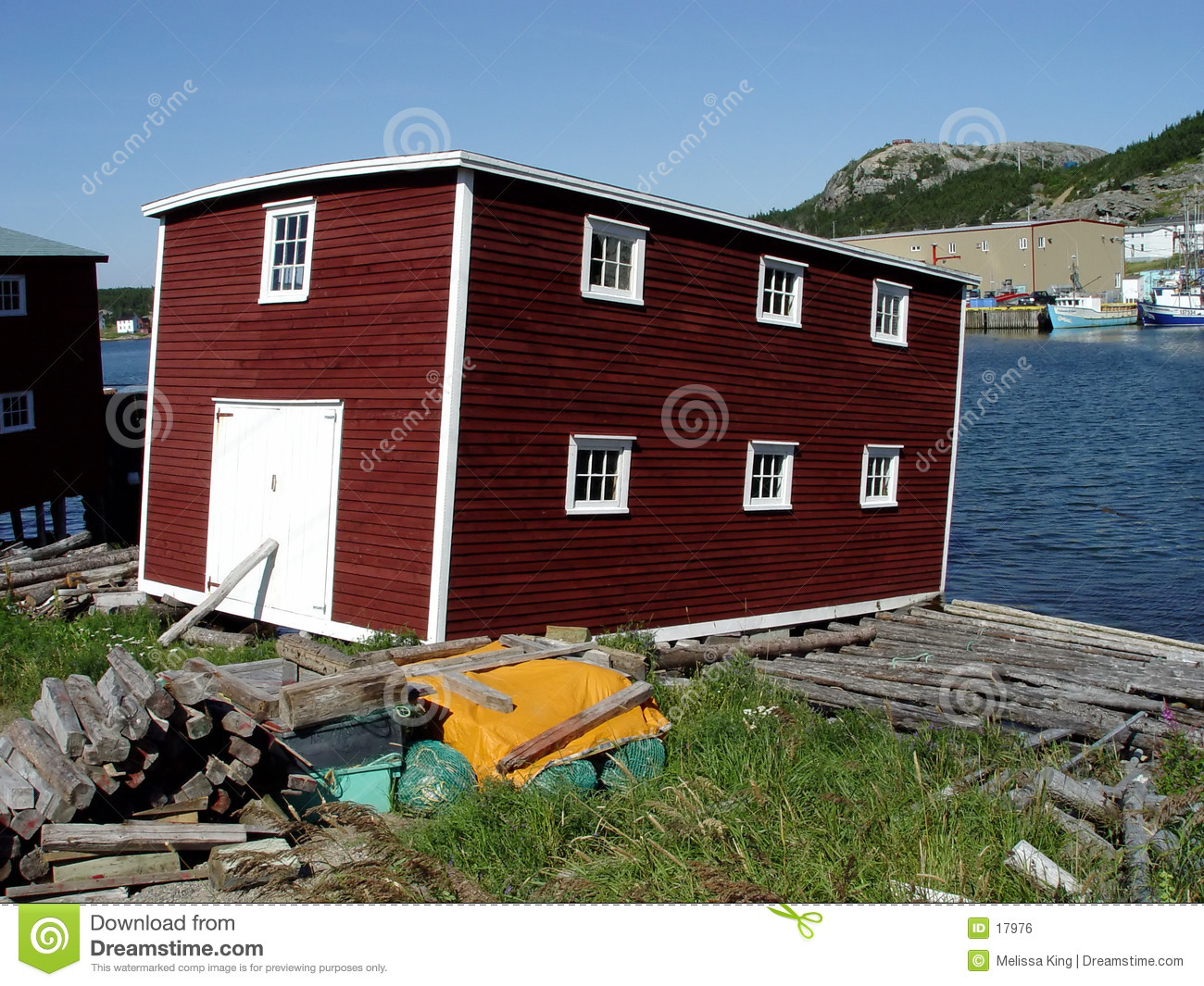 Newfoundland fishing stage