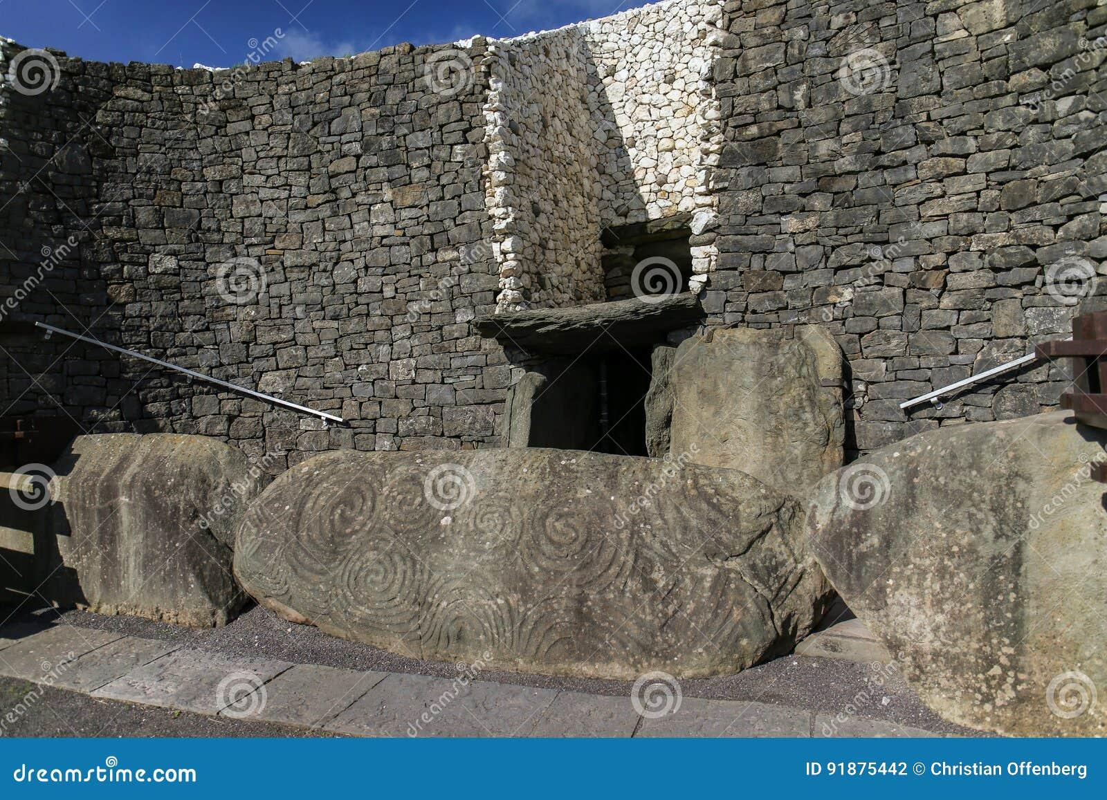 Newgrange przejścia Megalityczny grobowiec 3200 BC