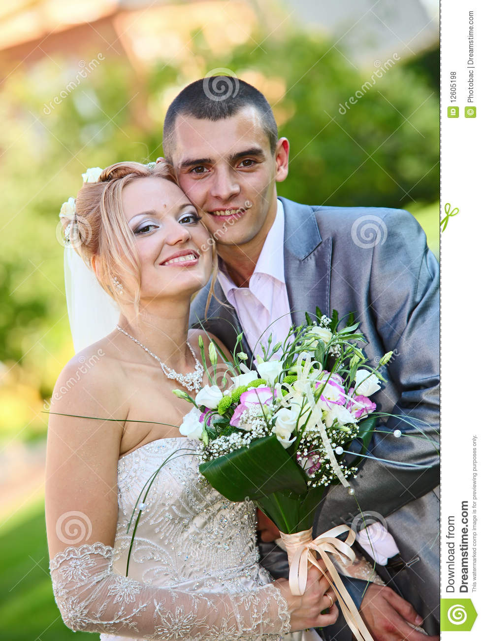 More similar stock images of newly married couple