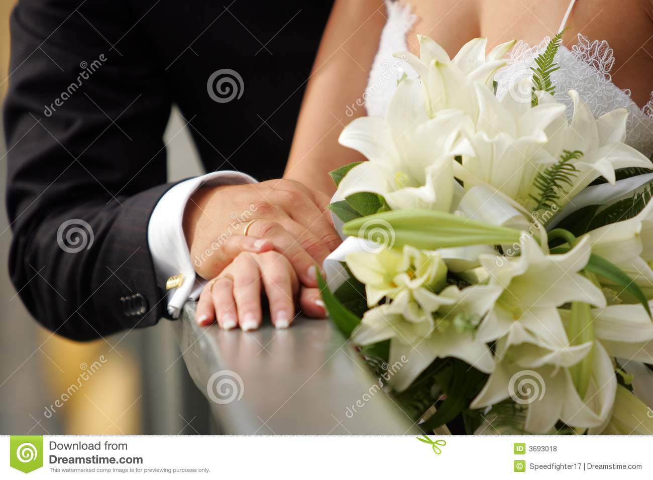 Newly married couple holding hands stock photo image of tender newly married couple holding hands kristyandbryce Image collections
