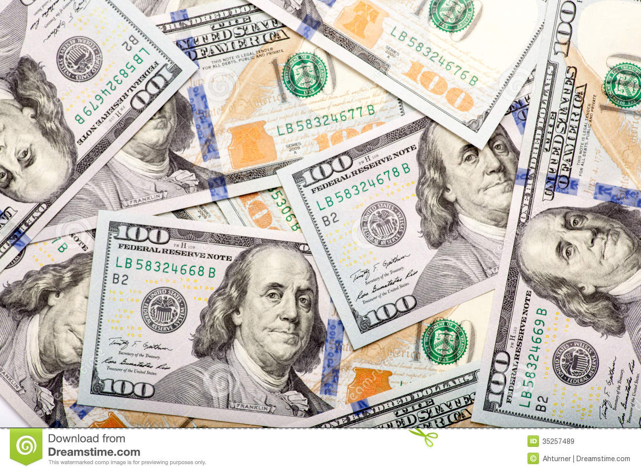 background of new 100 us dollars banknotes bills stock newly minted 100 bills background stock image image 997