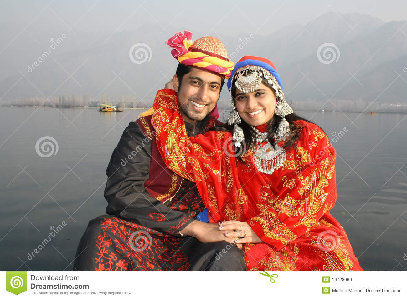 Newly Wed North Indian Pathani Couple