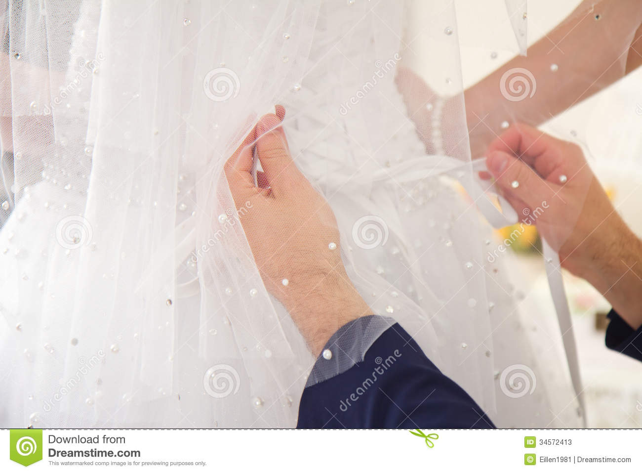 newlywed young man undressing bride stock photos image 34572413. Black Bedroom Furniture Sets. Home Design Ideas