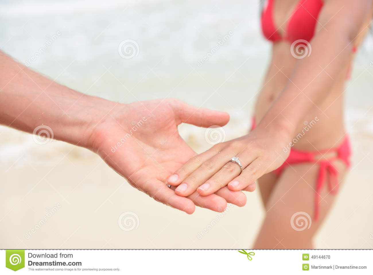 Casual dating holding hands