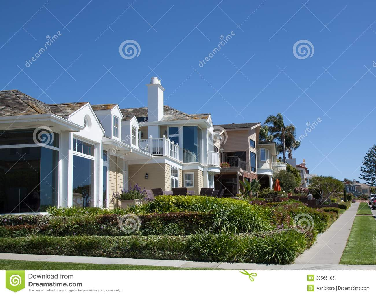 Newport beach neighborhood stock photo image 39566105 for Most expensive house in newport beach