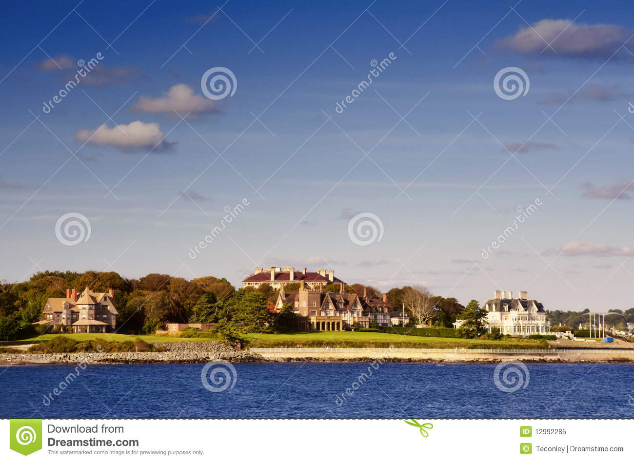Newport Mansions Editorial Image Image 12992285
