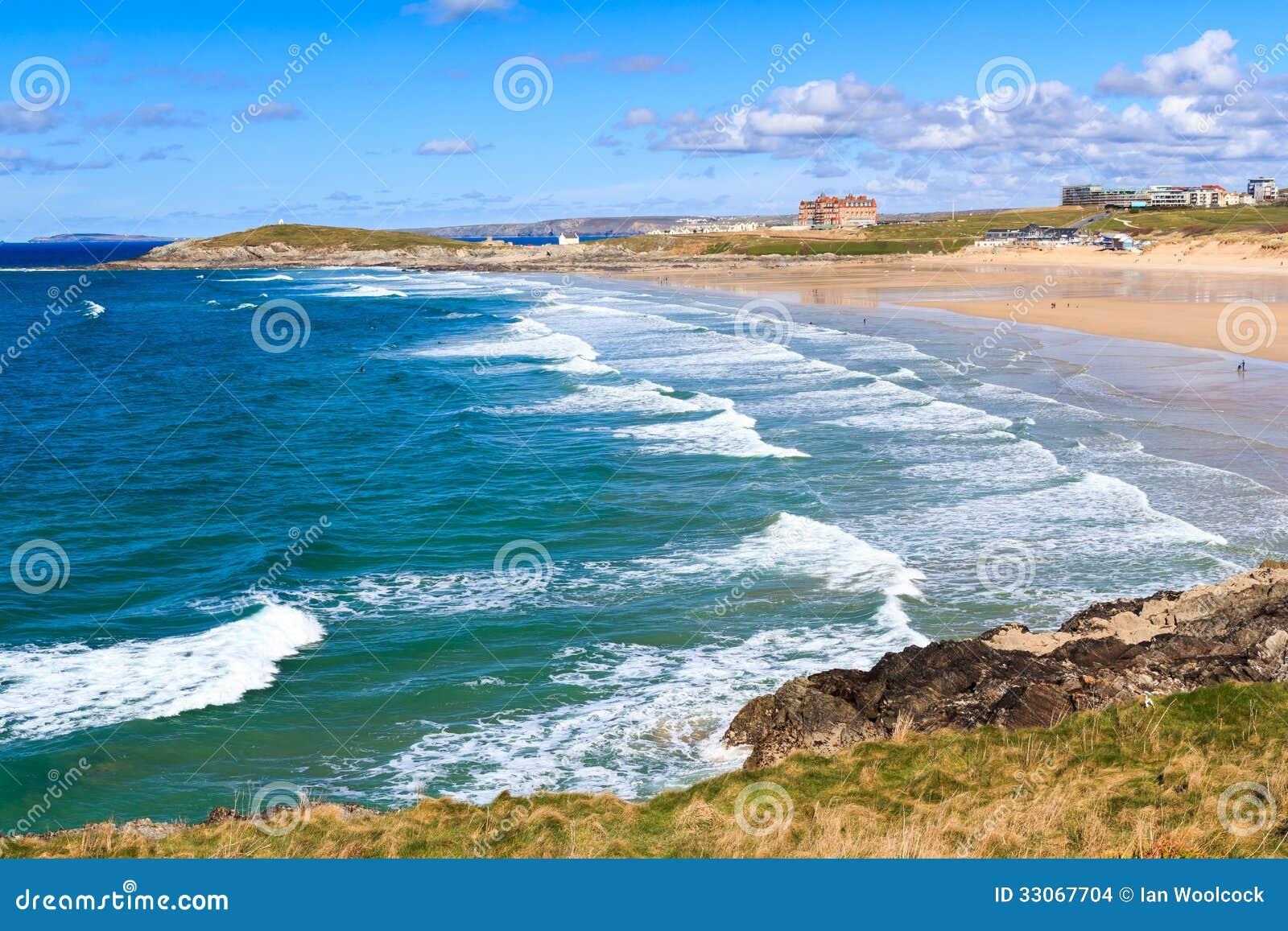 Newquay Cornwall England Stock Images - Image: 33067704