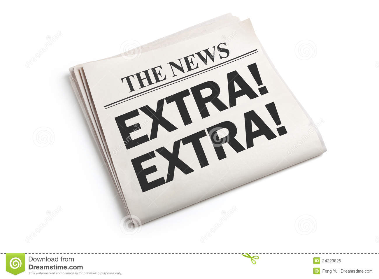News extra royalty free stock photo image 24223825