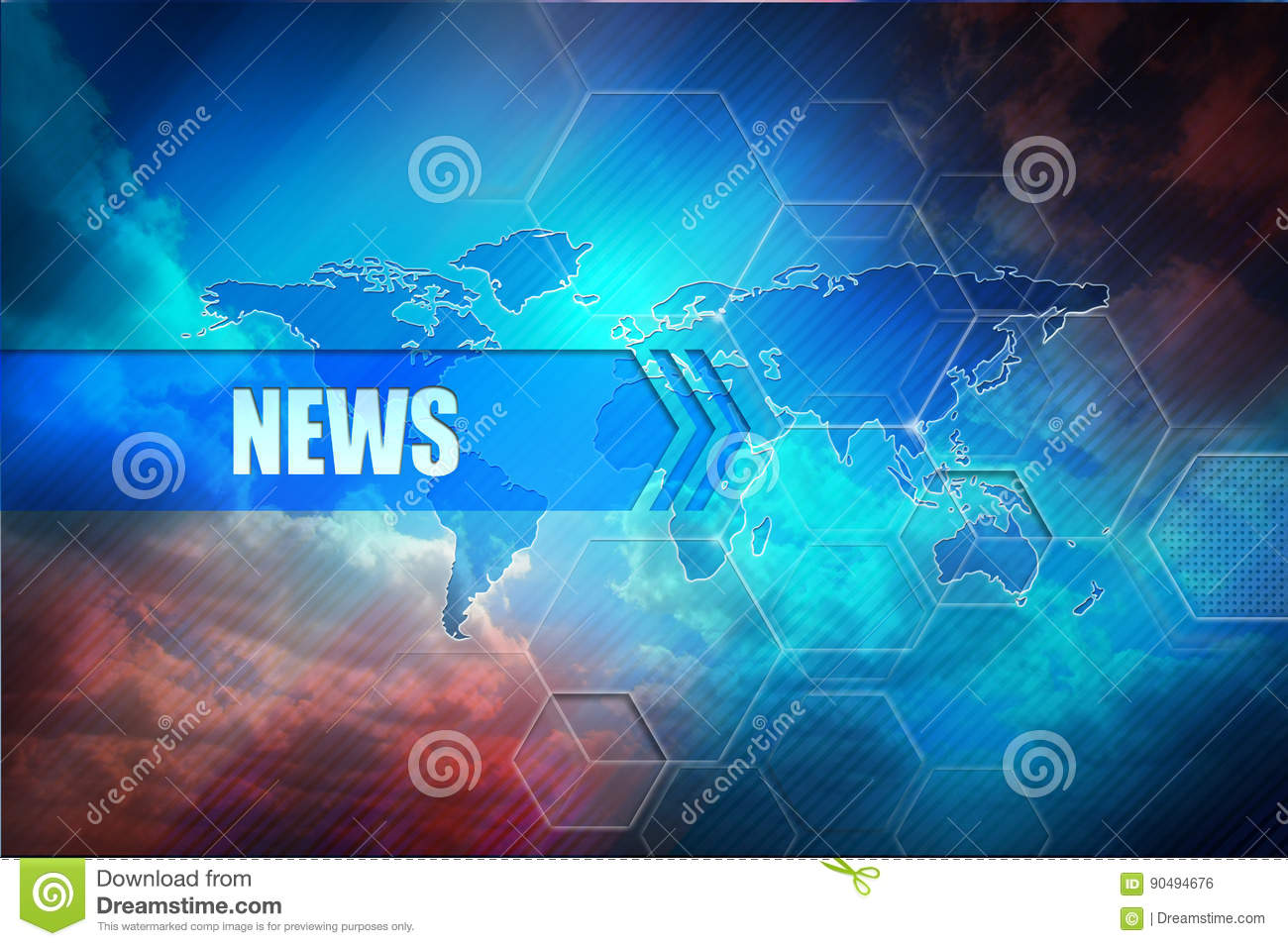 World news concept abstract world map stock photos 111 images news header background news title abstract colorful background global map and text header gumiabroncs Image collections
