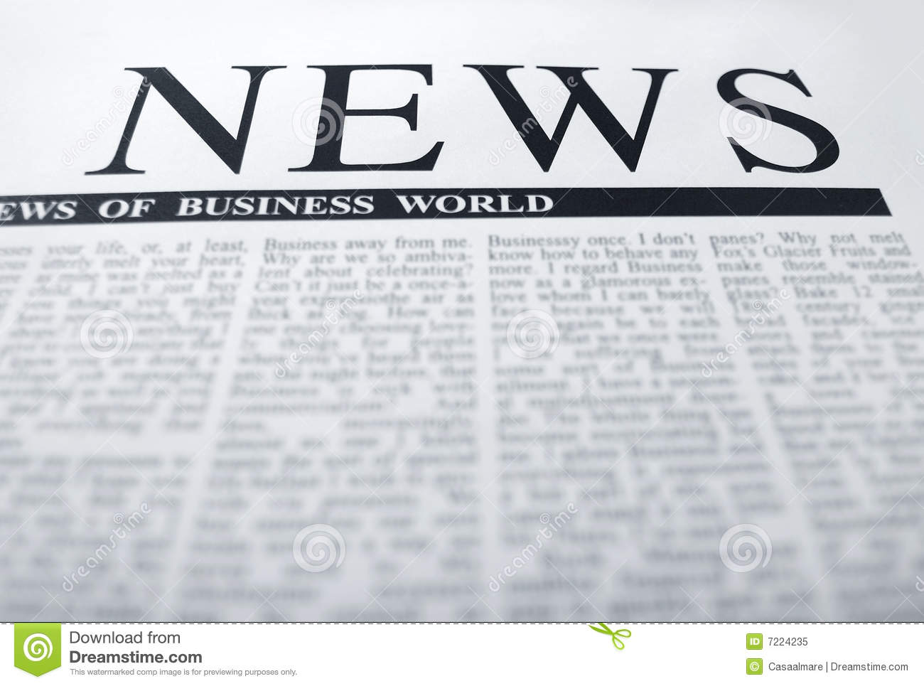 royalty free newspaper pictures images and stock photos istock news headline stock image image of text extract print 7224235