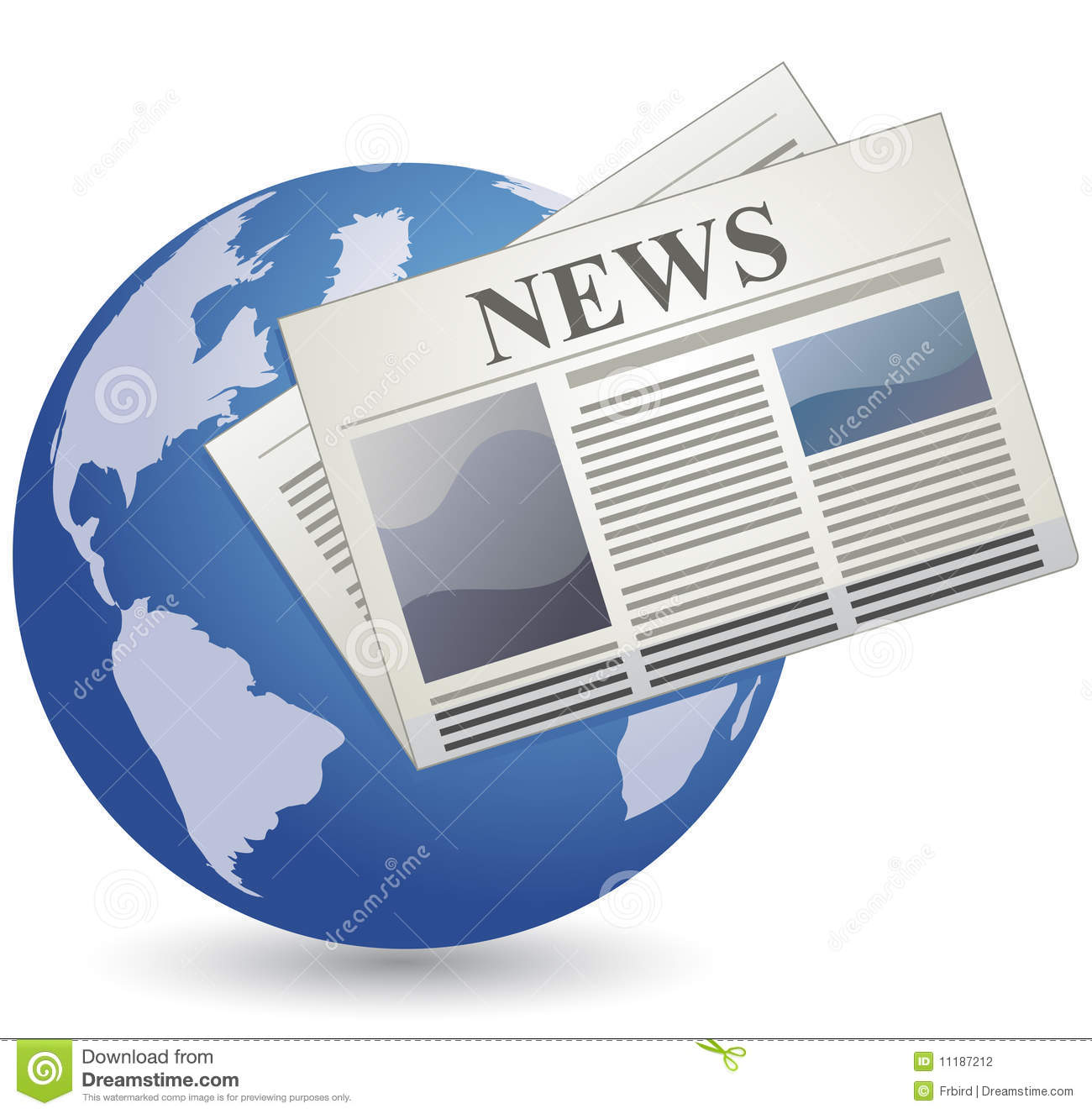 News Icon Stock Photography Image 11187212