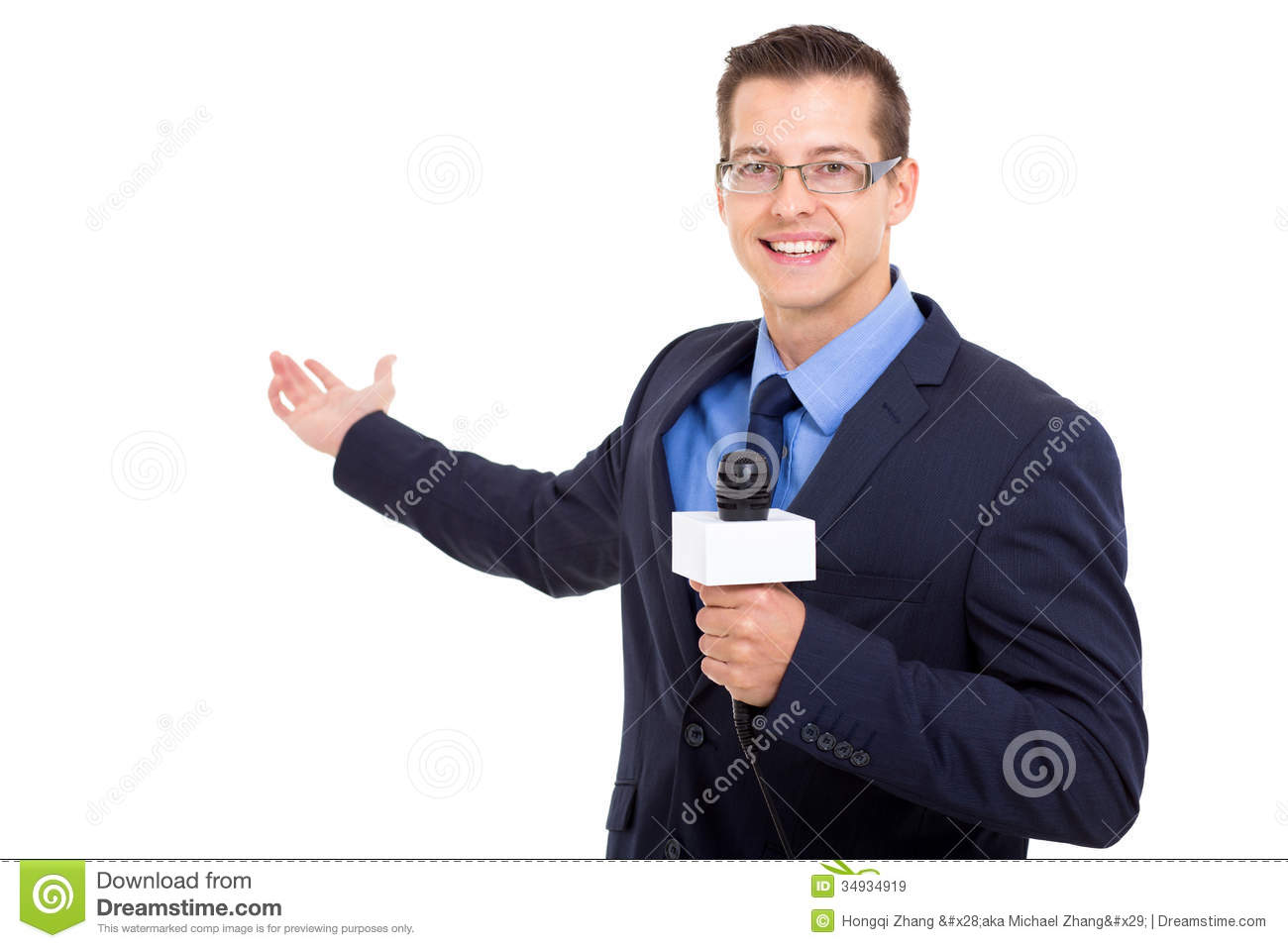 News Journalist Reporting Royalty Free Stock Images ...