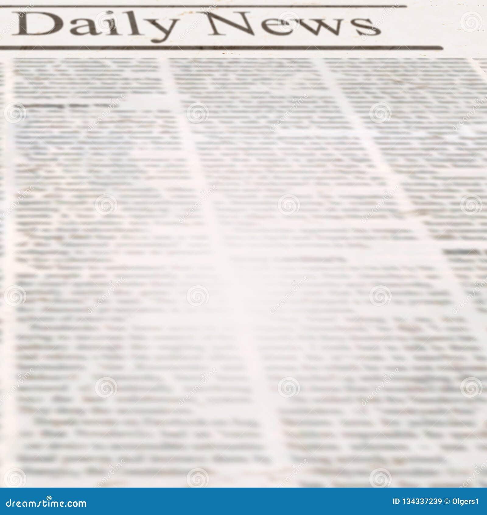 Newspaper Headline Template from thumbs.dreamstime.com