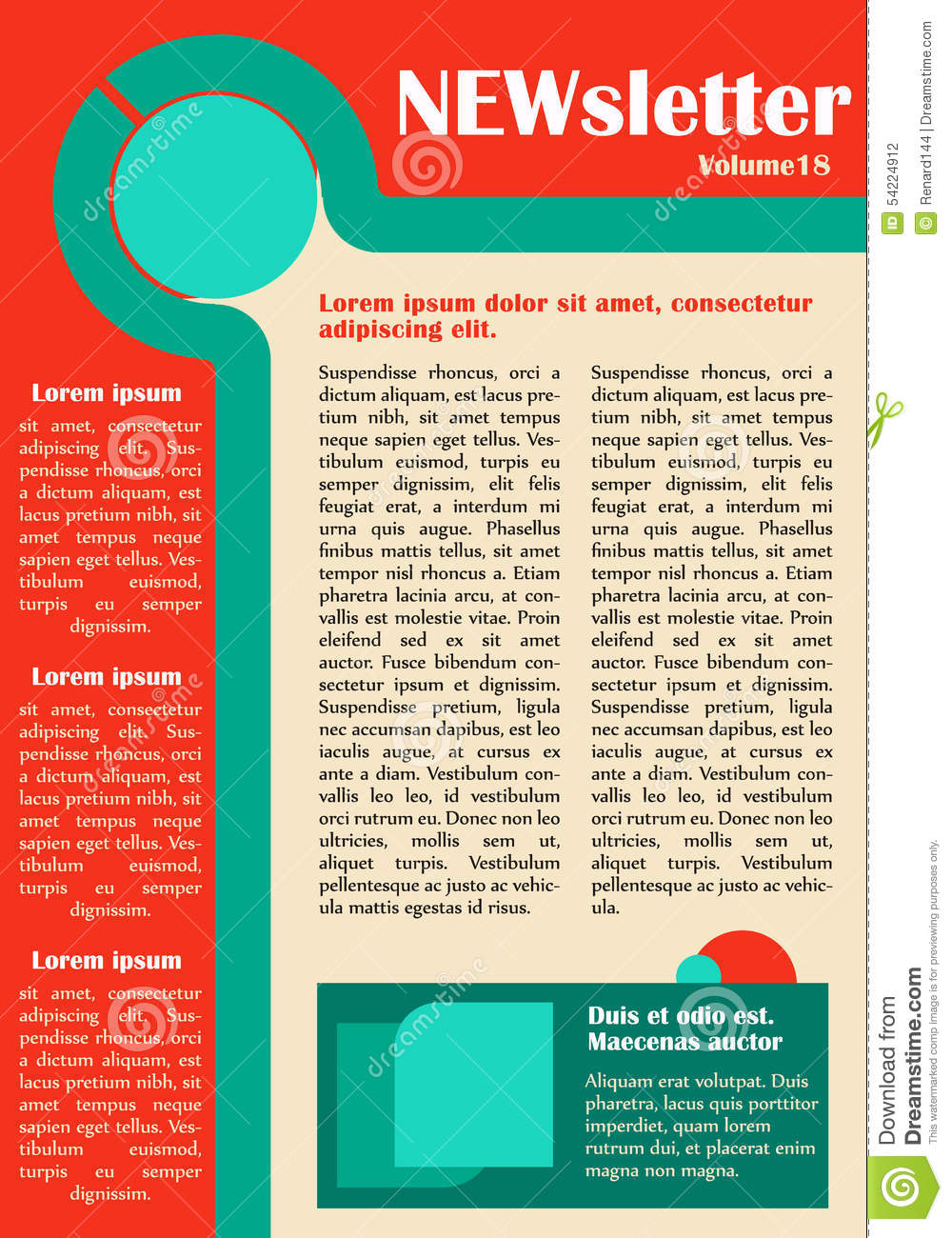 newsletter templates free download - download free newsletter for website template software