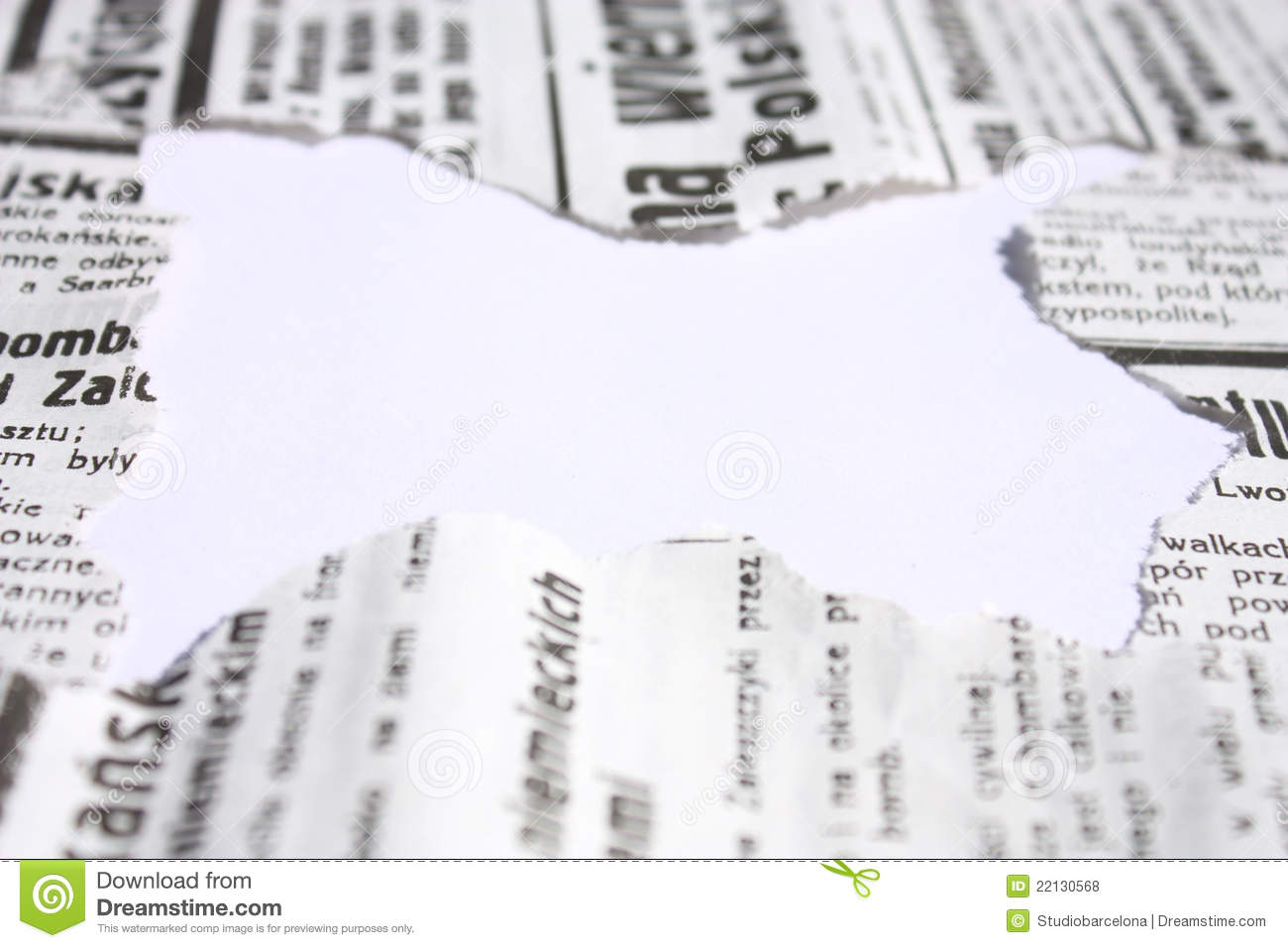 newspaper border royalty free stock photos image 22130568