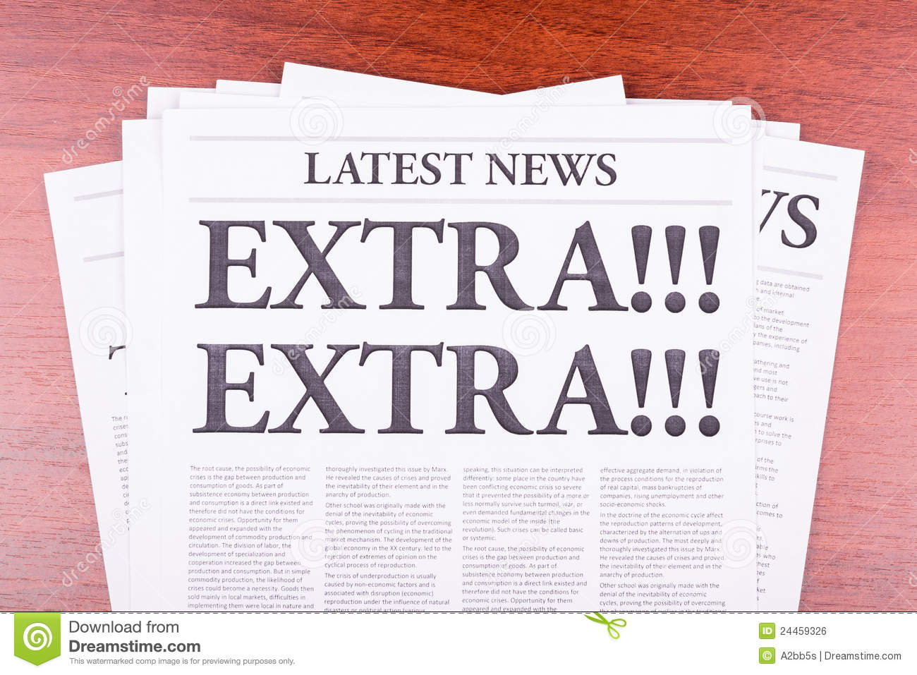 Image gallery extranews paper for News aggregator template