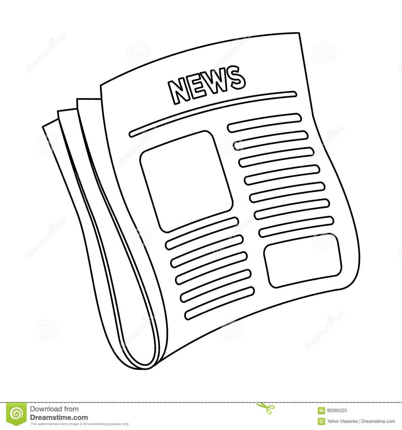 Newspaper NewsPaper For The Cover Of A Detective Who Is Investigating