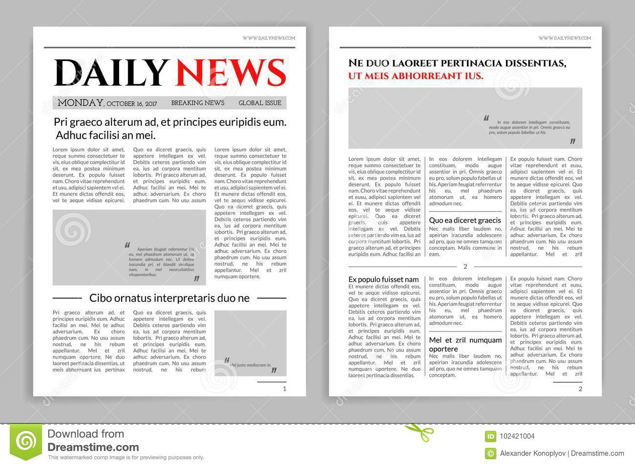 scribus newspaper template - mock newspaper template gallery wedding theme decoration