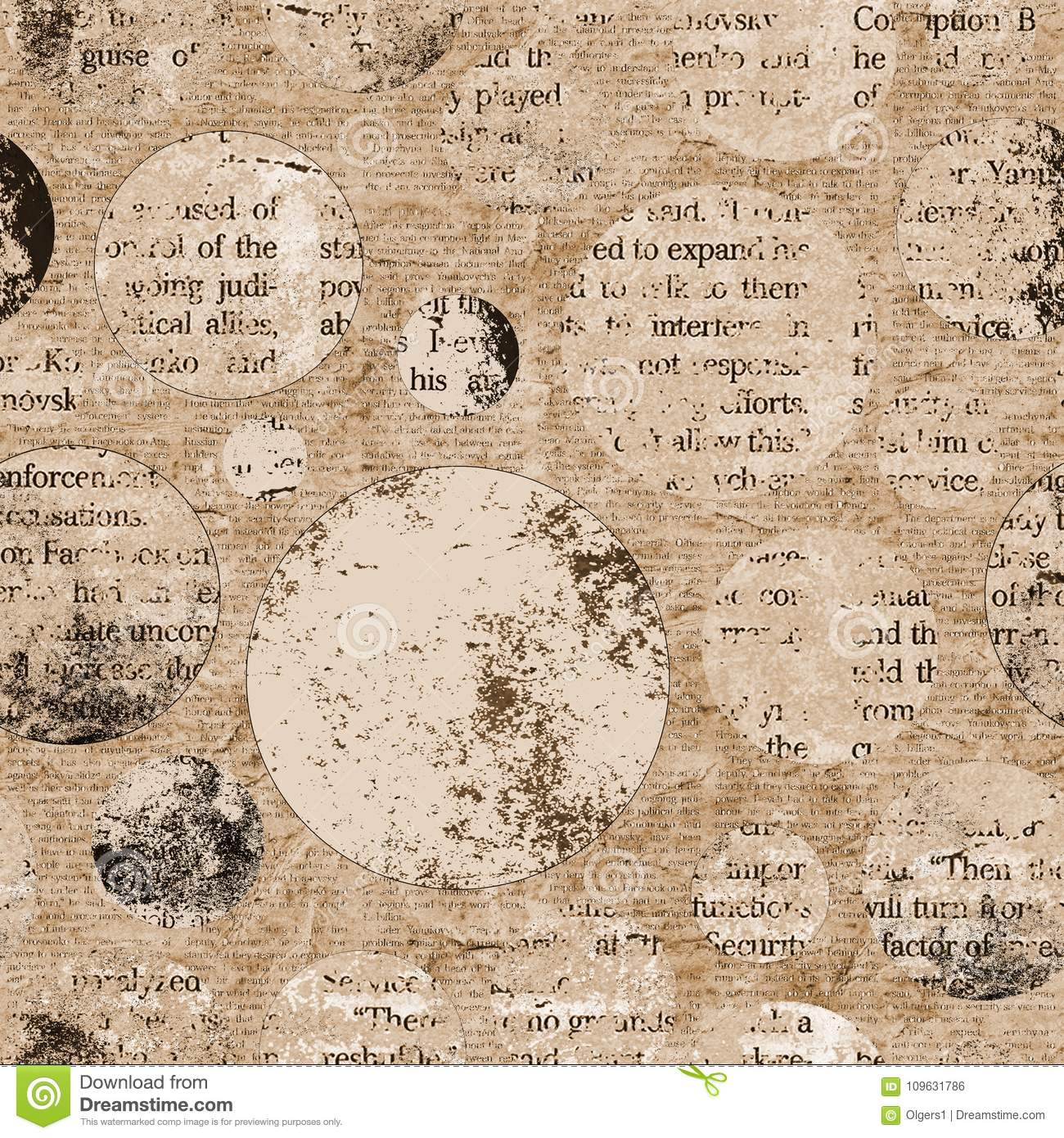 vintage newspaper texture background stock photo - image of paper