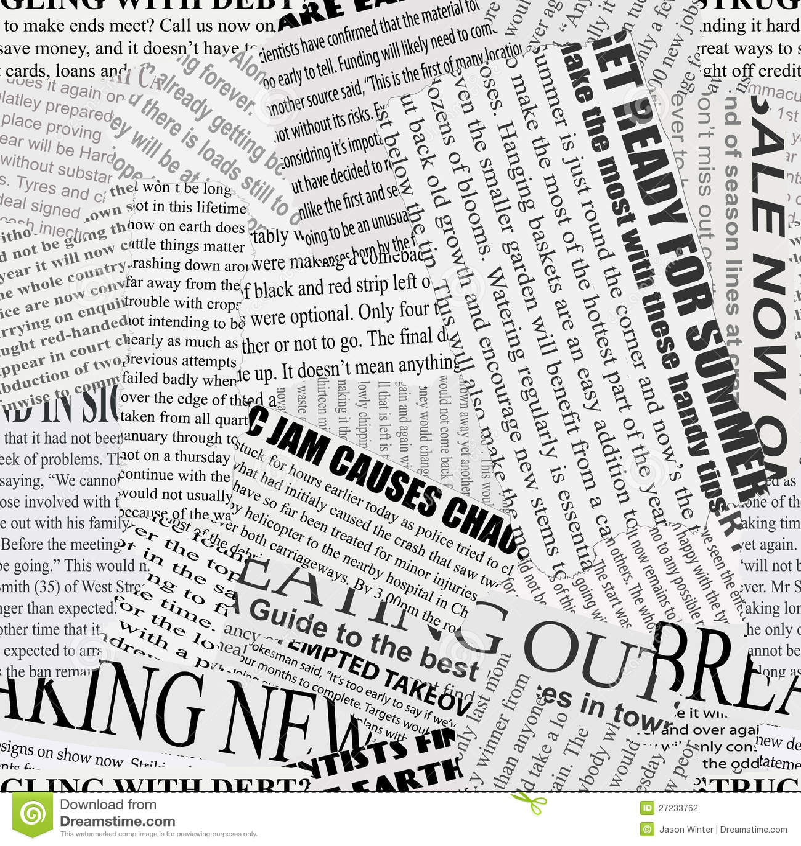Newspaper Background Design Newsprint Background s...