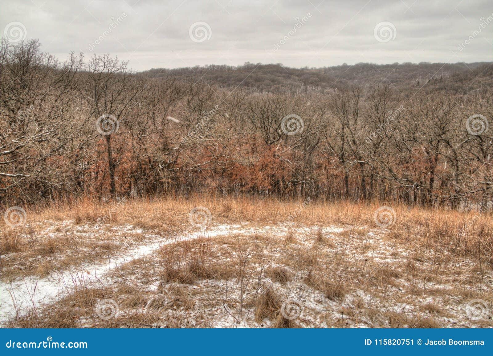 Newton Hills är en delstatspark i den amerikanska staten av South Dakota nära Sioux Falls