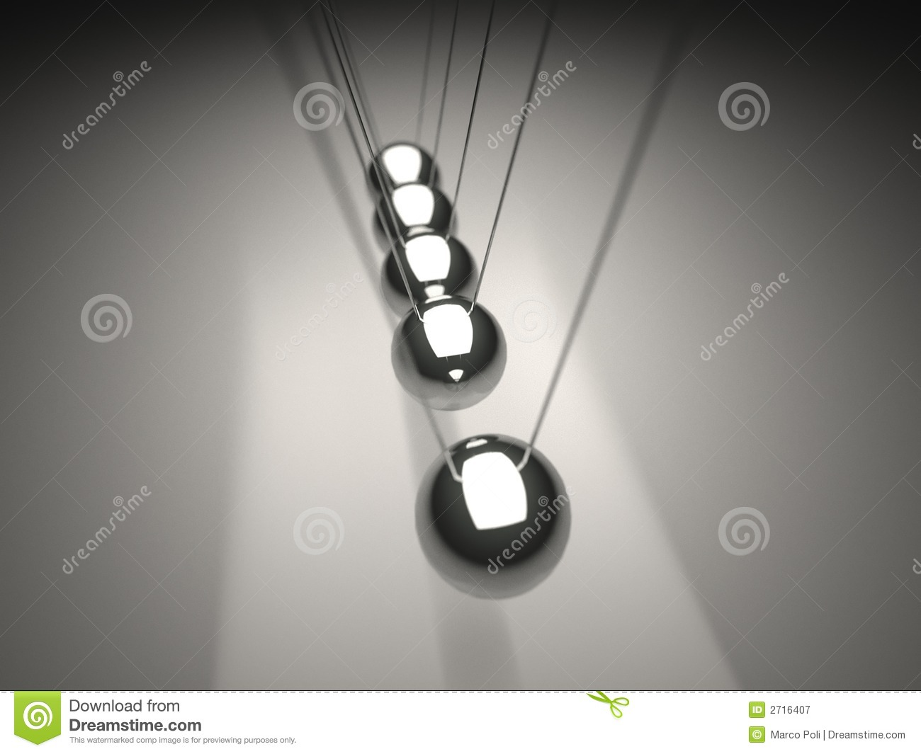 Newton's Cradle Metal Ball Royalty Free Stock Photography ...