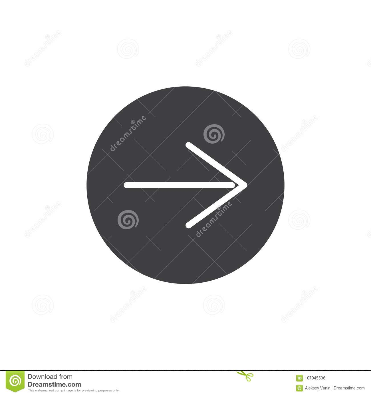 Next Page Icon Vector Filled Flat Sign Solid Pictogram Isolated On White Arrow Right Symbol Logo Illustration