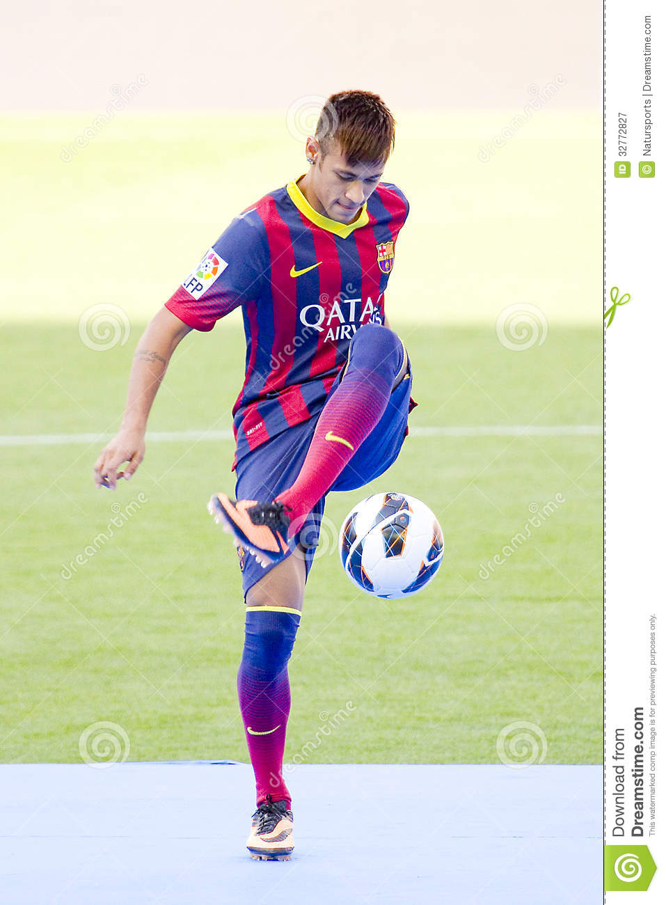 neymar fc barcelona editorial photography image of