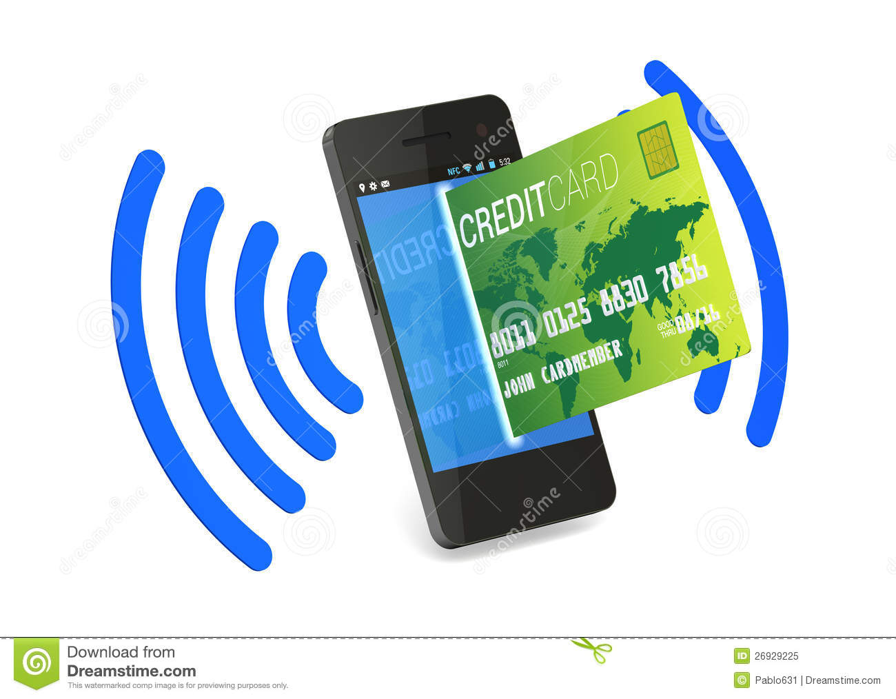 NFC Digital Credit Card