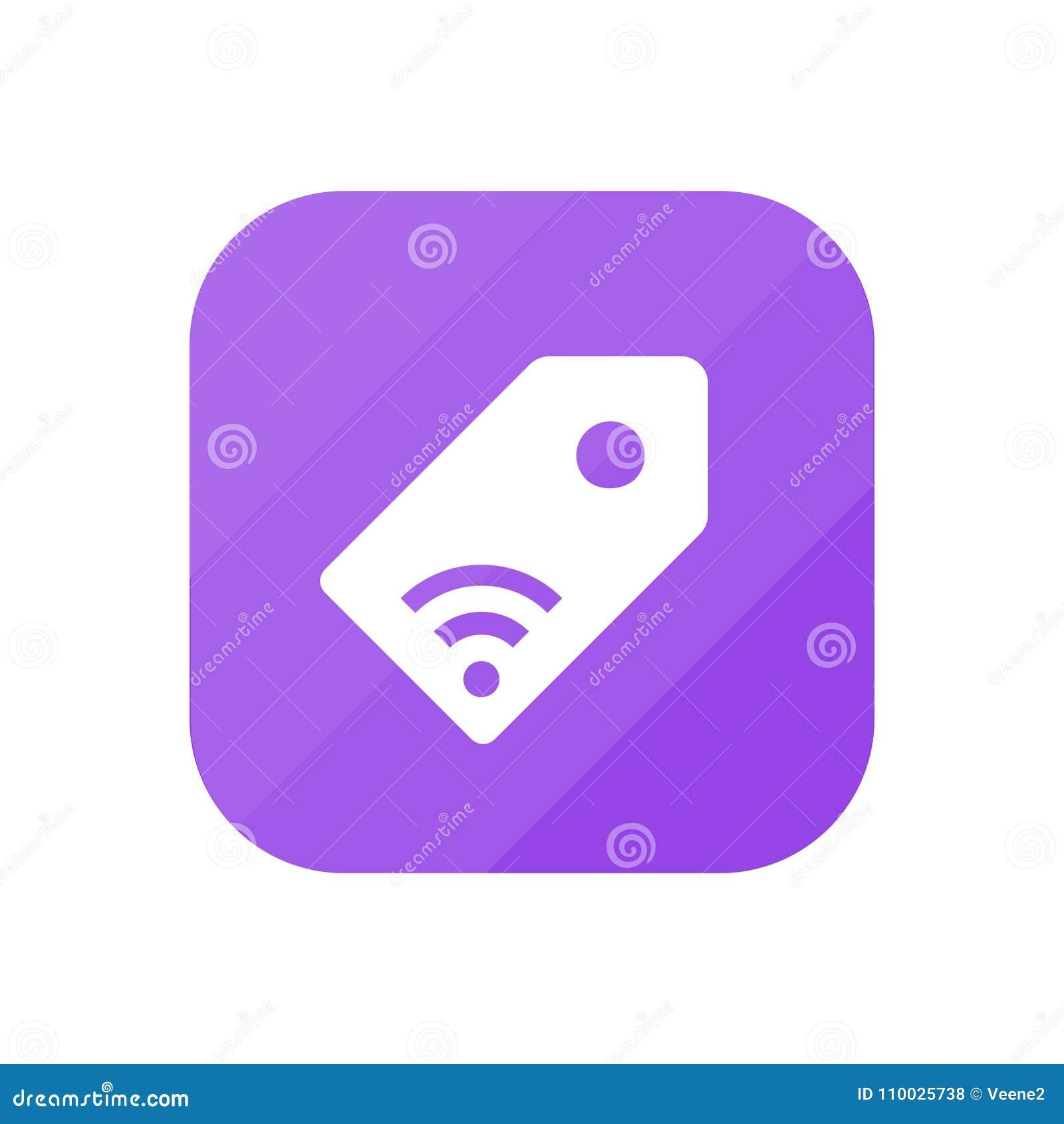 NFC-Markering - App Pictogram