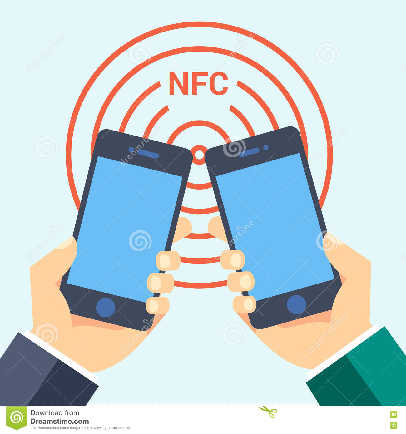 Nfc smart phone technology business card icon flat web sign symbol nfc smart phone technology business card icon flat web sign symbol logo label magicingreecefo Images