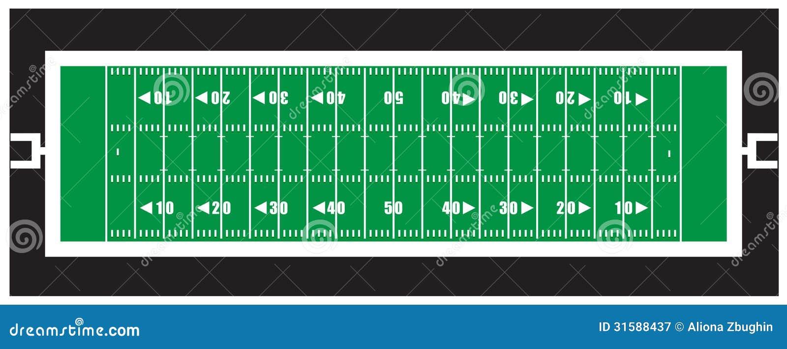 nfl american football field royalty free stock photography Football Field Clip Art Free Football Field Clip Art