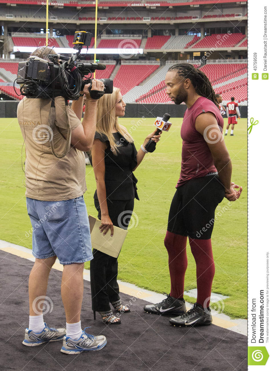 NFL Arizona Cardinals Larry Fitzgerald