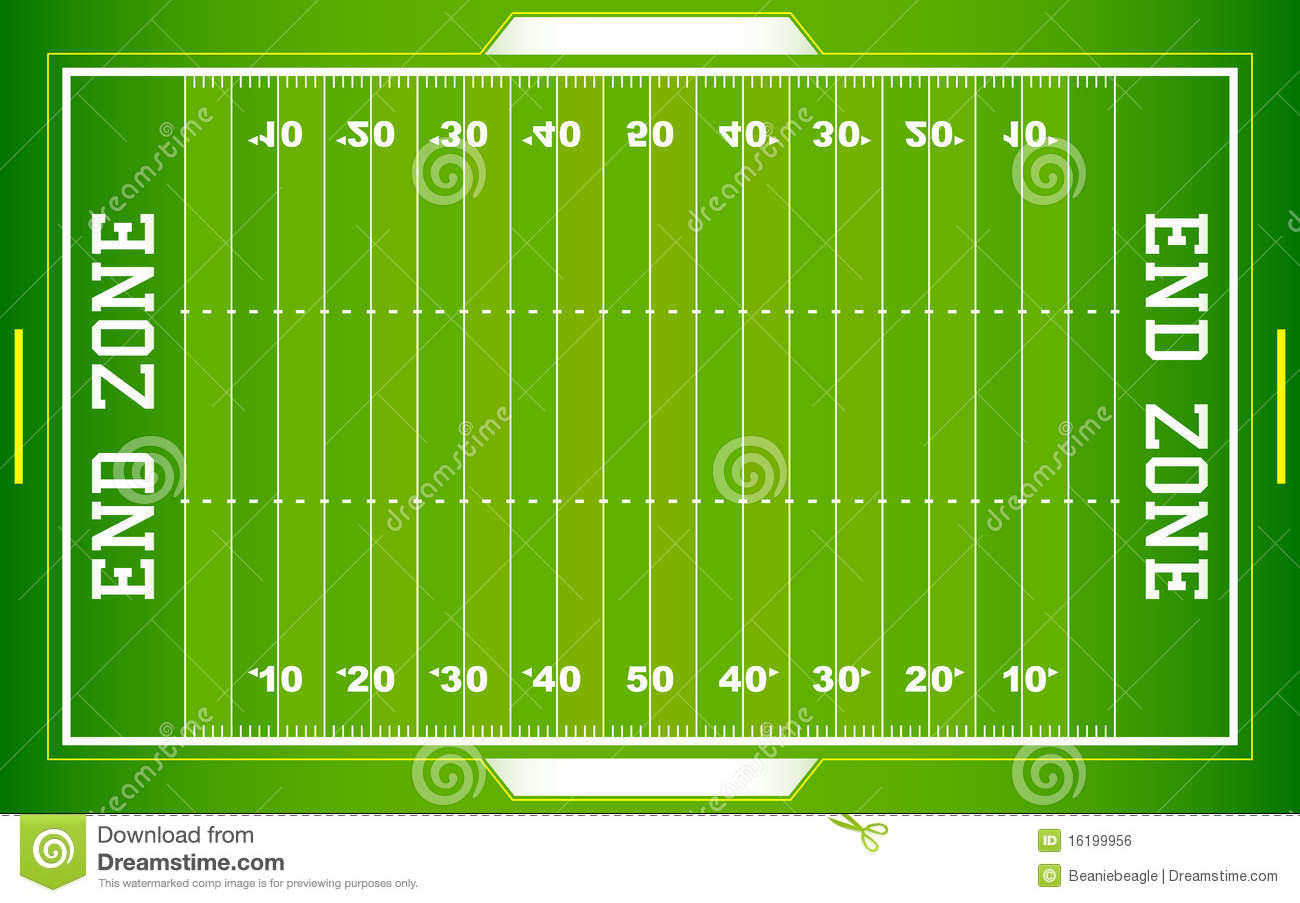nfl football field eps royalty free stock image   image    nfl football field eps