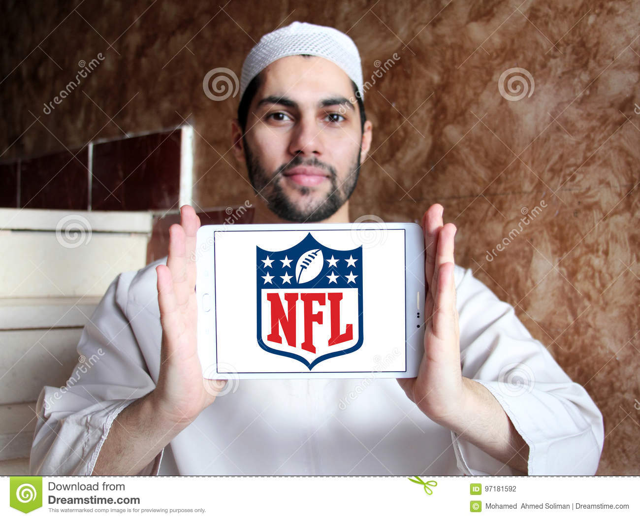 Nfl, logo de Ligue Nationale de Football Américain