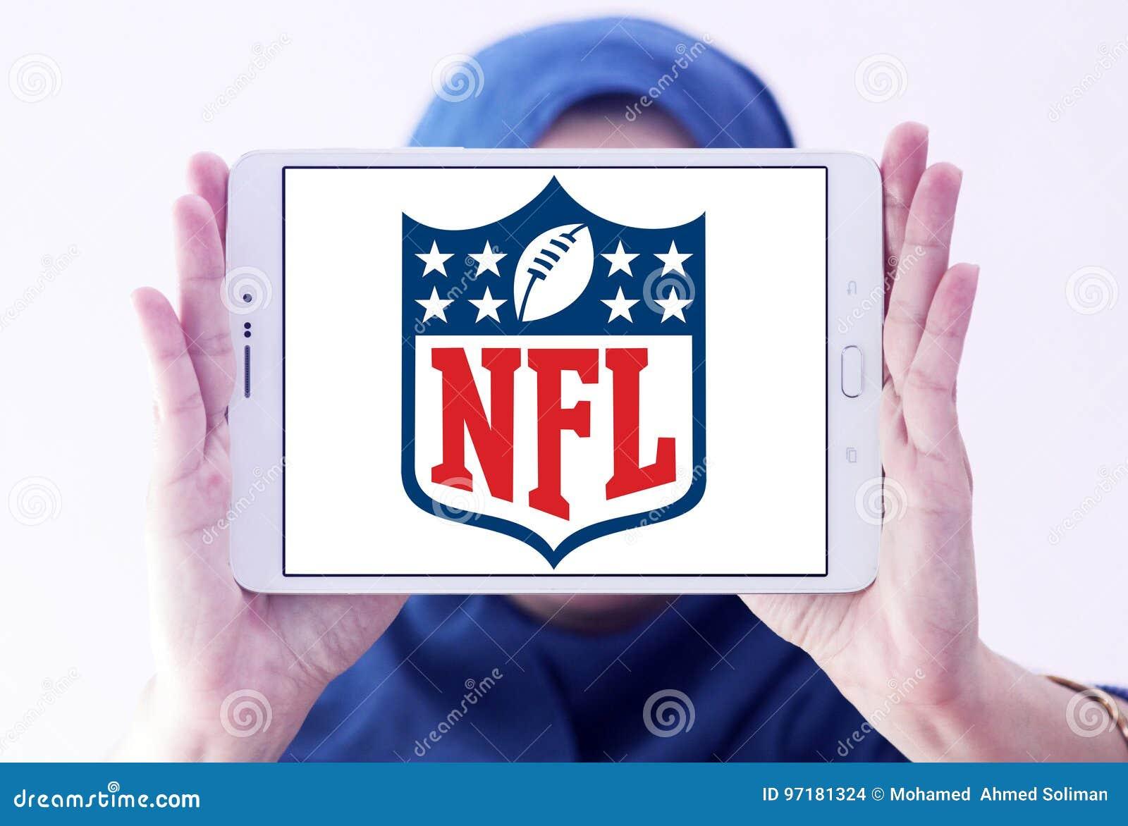 Nfl logo för liga för nationell fotboll