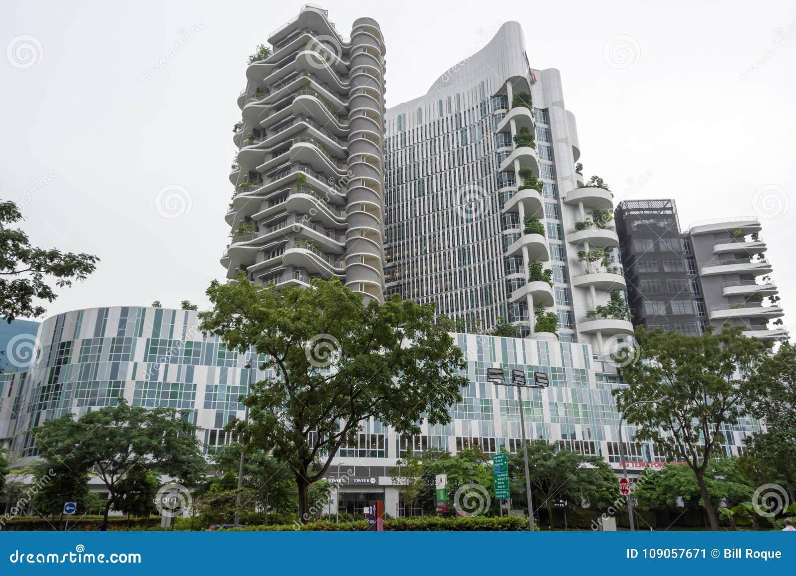 Ng Teng Fong szpital ogólny Punggol, Singapur, Styczeń 26, 20
