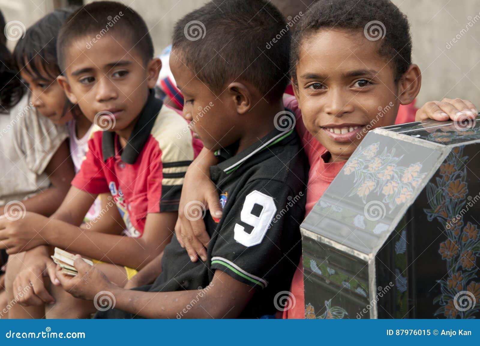 Ngada People At Wagomenge Flores Indonesia Editorial Image Image