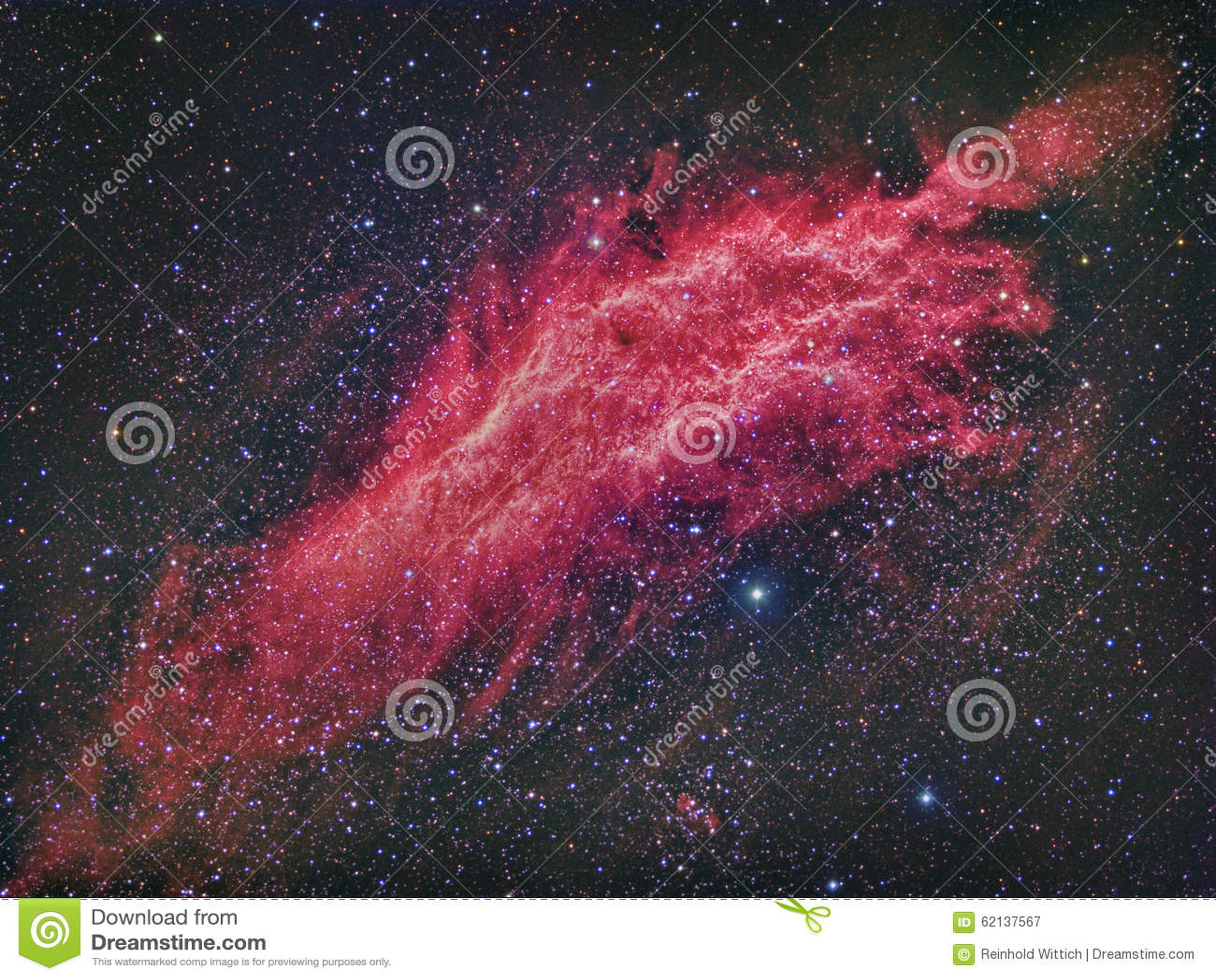 NGC 1499 California Nebula