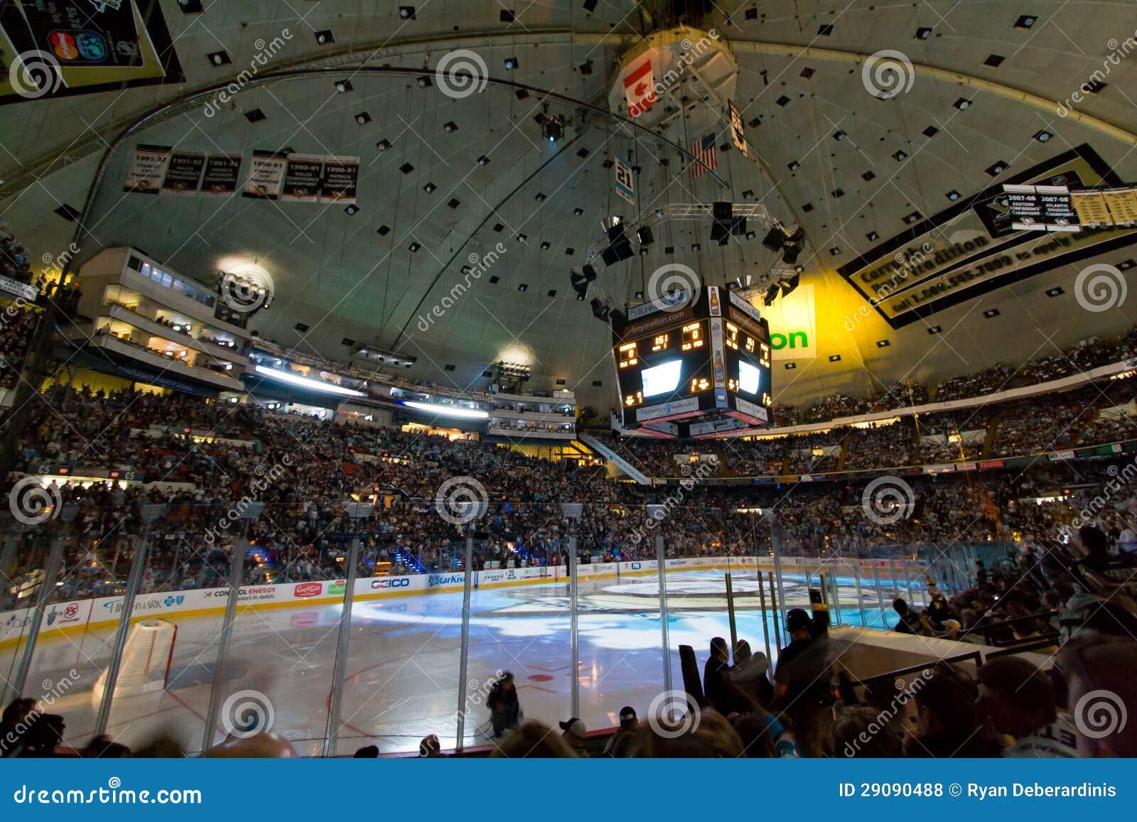 NHL Hockey Game Arena