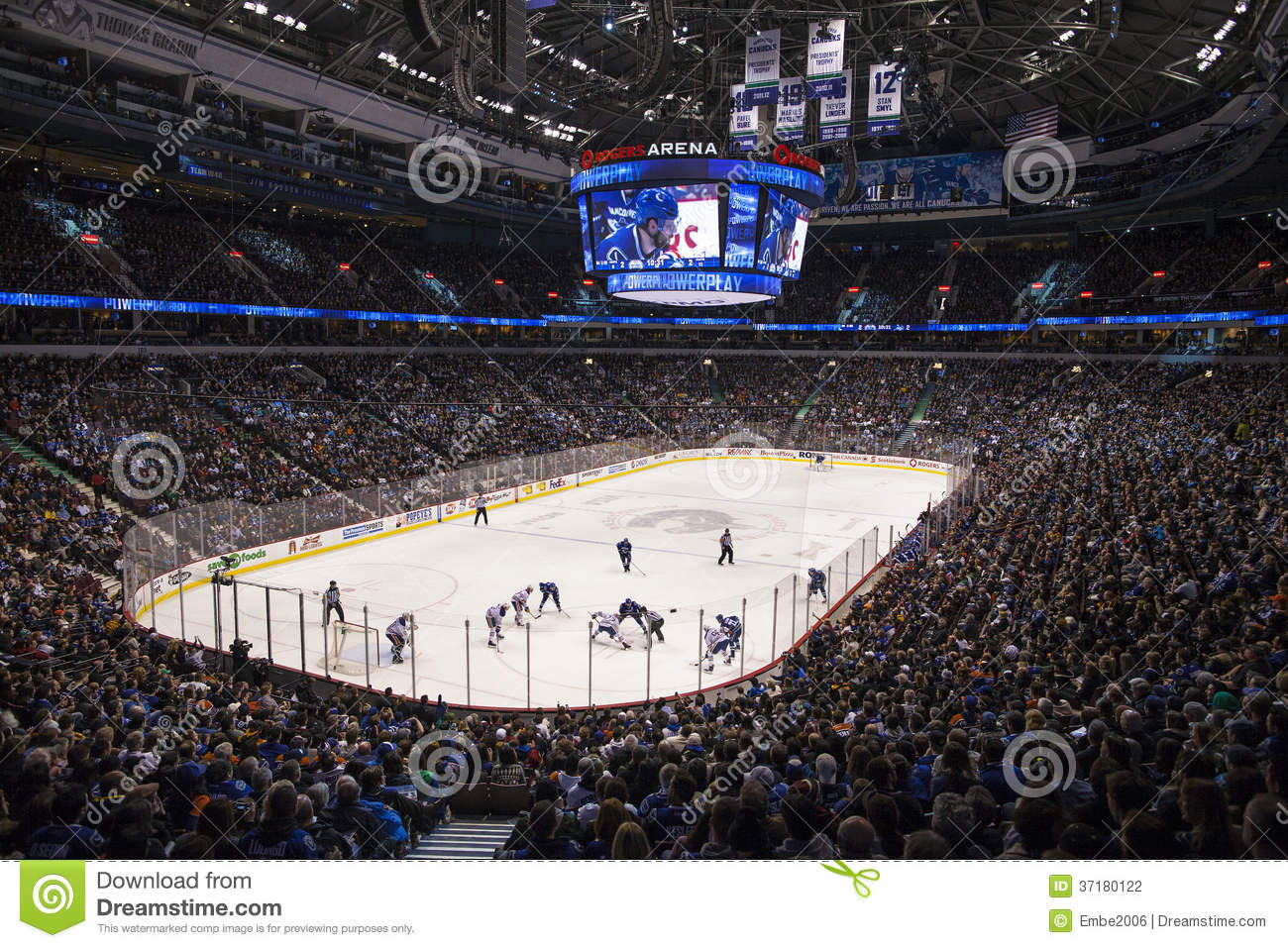 Nhl Hockey Game Editorial Photography Image Of Teams 37180122