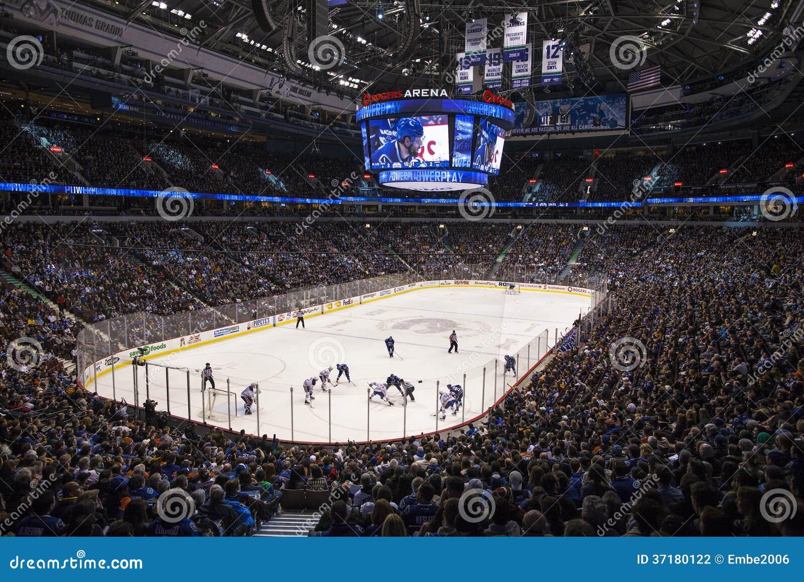 Nhl-Hockeyspiel