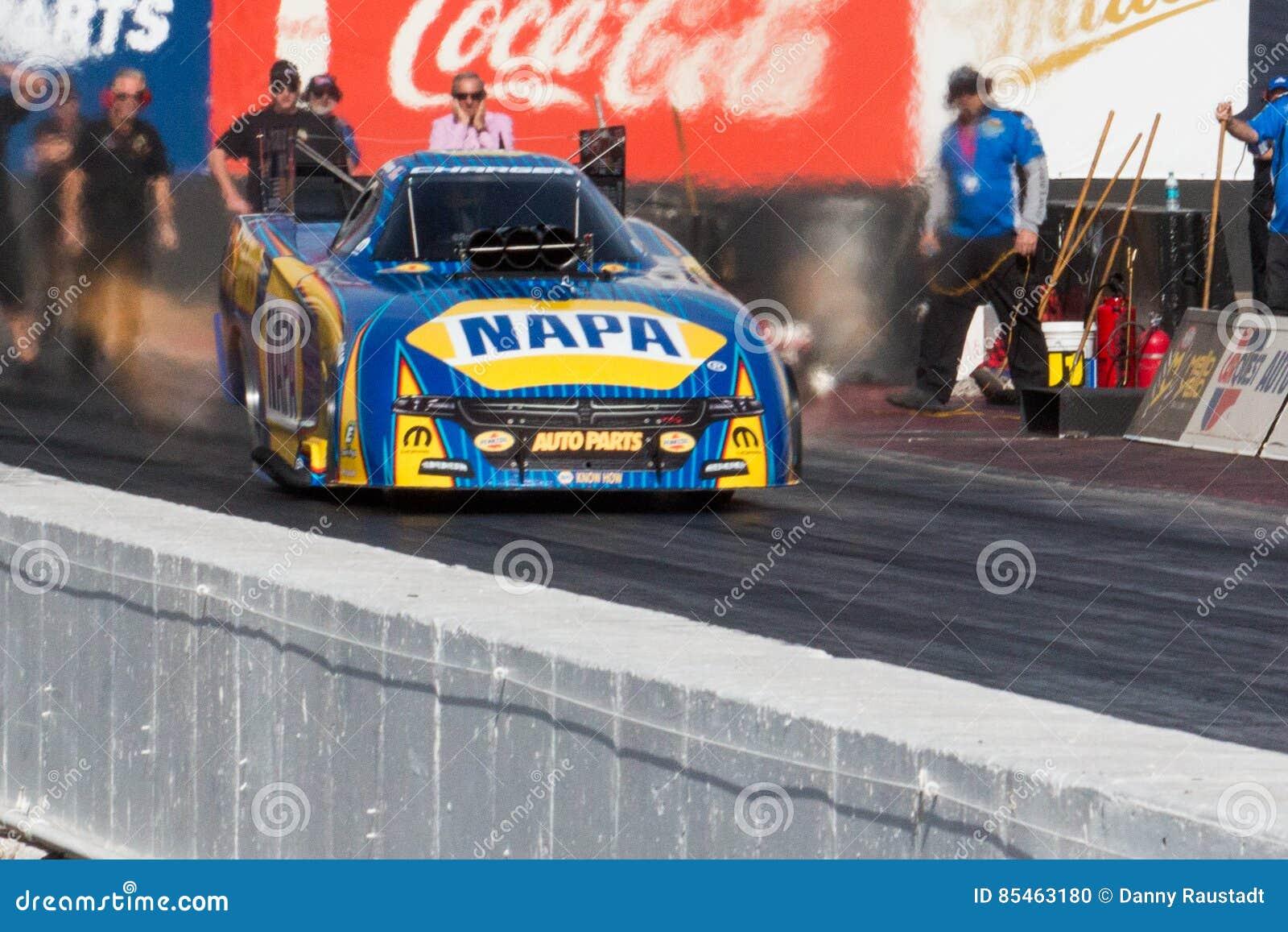 NHRA-Spitzen-Brennstoff Dragsters
