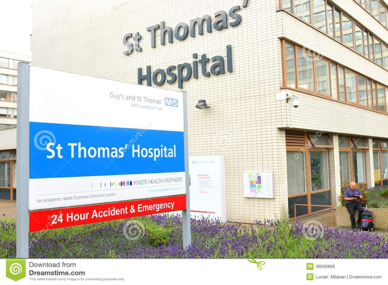 NHS Editorial Stock Photo - Image: 49026868
