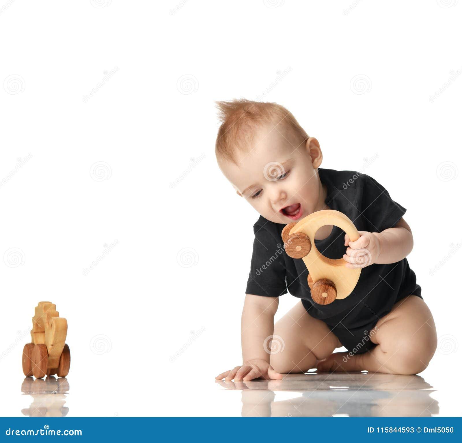Juguetes Bebe De 8 Meses.Nino Infantil Del Bebe Del Nino De 8 Meses Que Se Sienta En